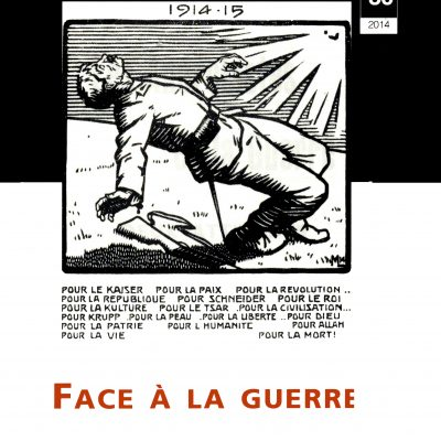 Cahier n°30. Face à la guerre : le pacifisme et l'internationalisme