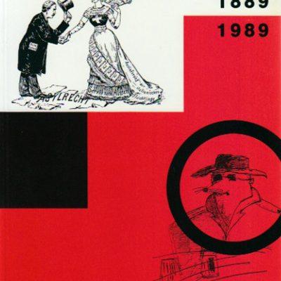 Cent ans de police politique en Suisse 1889-1989