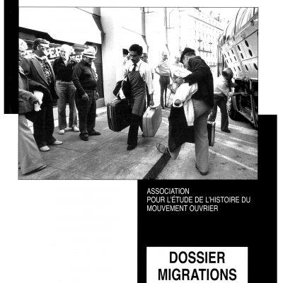 Cahier n°17. Les migrants dans l'histoire du mouvement ouvrier