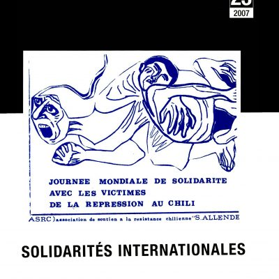 Cahiers n°23. Solidarités internationales
