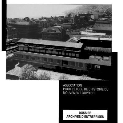 Cahier n°15. Archives d'entreprises