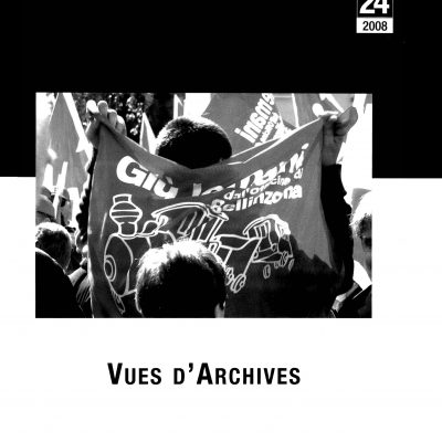 Cahier n°24. Vues d'Archives