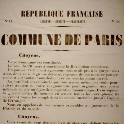18 mars, une commémoration ouvrière oubliée :  La Commune de Paris (1871)