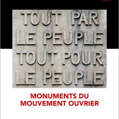 Cahier n°33. Monuments du mouvement ouvrier